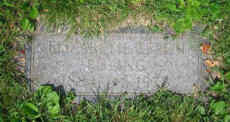 POLING, ELIZABETH - Clark County, Ohio | ELIZABETH POLING - Ohio Gravestone Photos