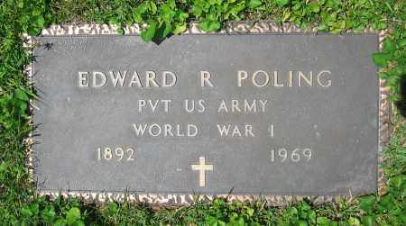 POLING, EDWARD R. - Clark County, Ohio | EDWARD R. POLING - Ohio Gravestone Photos