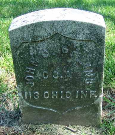 POLING, JOHN G. - Clark County, Ohio | JOHN G. POLING - Ohio Gravestone Photos