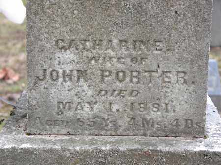 PORTER, CATHARINE - Clark County, Ohio | CATHARINE PORTER - Ohio Gravestone Photos