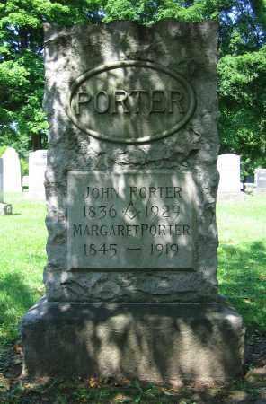 PORTER, MARGARET - Clark County, Ohio | MARGARET PORTER - Ohio Gravestone Photos