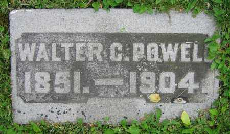 POWELL, WALTER C. - Clark County, Ohio | WALTER C. POWELL - Ohio Gravestone Photos