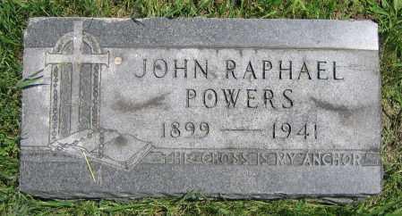 POWERS, JOHN RAPHAEL - Clark County, Ohio | JOHN RAPHAEL POWERS - Ohio Gravestone Photos