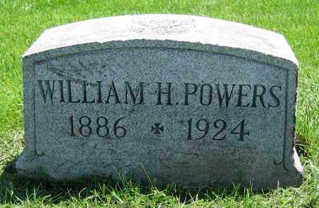 POWERS, WILLIAM H. - Clark County, Ohio | WILLIAM H. POWERS - Ohio Gravestone Photos