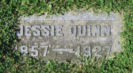 QUINN, JESSIE - Clark County, Ohio | JESSIE QUINN - Ohio Gravestone Photos