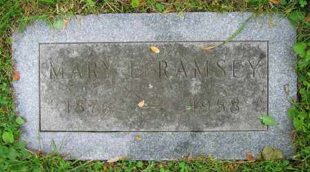 RAMSEY, MARY E. - Clark County, Ohio | MARY E. RAMSEY - Ohio Gravestone Photos
