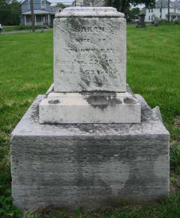 RAY, SARAH - Clark County, Ohio   SARAH RAY - Ohio Gravestone Photos