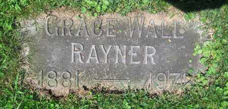 WALL RAYNER, GRACE - Clark County, Ohio | GRACE WALL RAYNER - Ohio Gravestone Photos