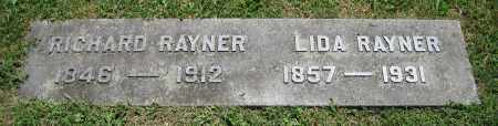 RAYNER, RICHARD - Clark County, Ohio | RICHARD RAYNER - Ohio Gravestone Photos