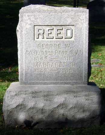 REED, GEORGE WASHINGTON - Clark County, Ohio | GEORGE WASHINGTON REED - Ohio Gravestone Photos