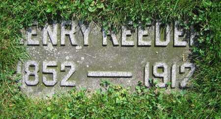 REEDER, HENRY - Clark County, Ohio | HENRY REEDER - Ohio Gravestone Photos