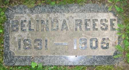 REESE, BELINDA - Clark County, Ohio | BELINDA REESE - Ohio Gravestone Photos