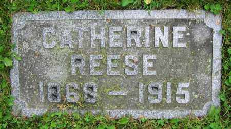 REESE, CATHERINE - Clark County, Ohio | CATHERINE REESE - Ohio Gravestone Photos
