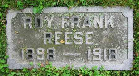 REESE, ROY FRANK - Clark County, Ohio | ROY FRANK REESE - Ohio Gravestone Photos