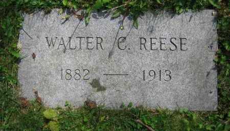REESE, WALTER C. - Clark County, Ohio | WALTER C. REESE - Ohio Gravestone Photos