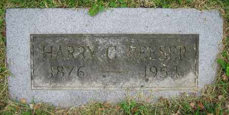 REESER, HARRY C. - Clark County, Ohio | HARRY C. REESER - Ohio Gravestone Photos