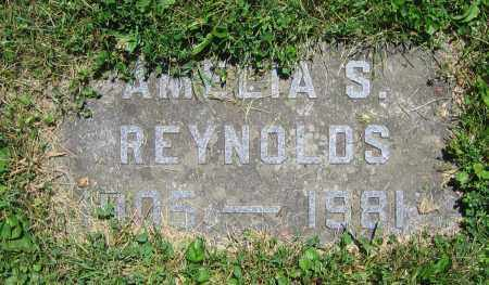 REYNOLDS, AMELIA S. - Clark County, Ohio | AMELIA S. REYNOLDS - Ohio Gravestone Photos