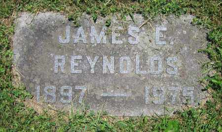 REYNOLDS, JAMES E. - Clark County, Ohio | JAMES E. REYNOLDS - Ohio Gravestone Photos