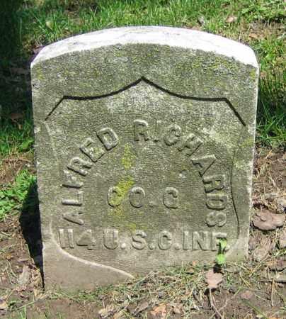 RICHARDS, ALFRED - Clark County, Ohio   ALFRED RICHARDS - Ohio Gravestone Photos