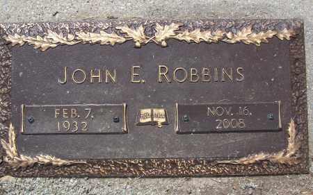 ROBBINS, JOHN E. - Clark County, Ohio | JOHN E. ROBBINS - Ohio Gravestone Photos