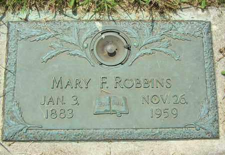 ROBBINS, MARY F - Clark County, Ohio | MARY F ROBBINS - Ohio Gravestone Photos