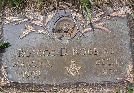 ROBBINS, ROSCEO D. - Clark County, Ohio | ROSCEO D. ROBBINS - Ohio Gravestone Photos