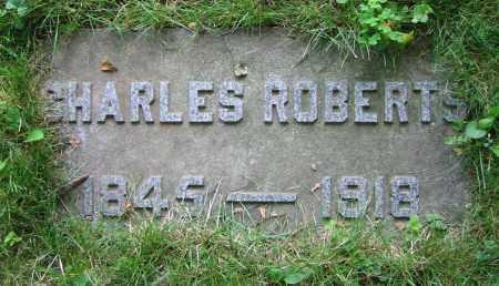 ROBERTS, CHARLES - Clark County, Ohio | CHARLES ROBERTS - Ohio Gravestone Photos