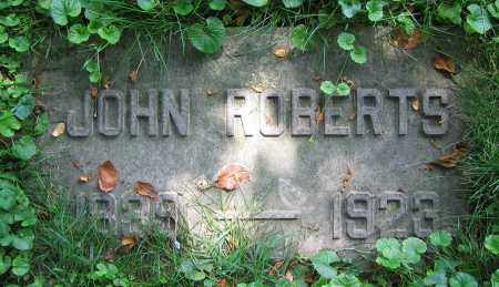 ROBERTS, JOHN - Clark County, Ohio | JOHN ROBERTS - Ohio Gravestone Photos
