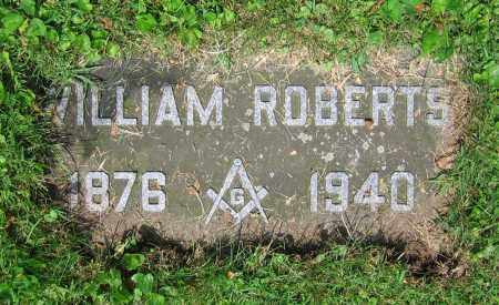 ROBERTS, WILLIAM - Clark County, Ohio | WILLIAM ROBERTS - Ohio Gravestone Photos