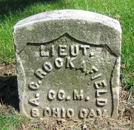 ROCKAFIELD, A.C. - Clark County, Ohio | A.C. ROCKAFIELD - Ohio Gravestone Photos