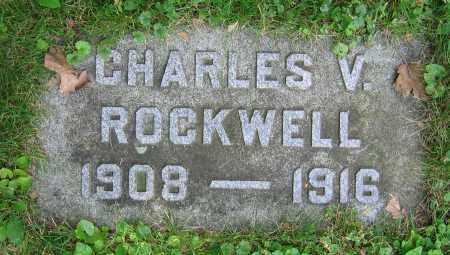 ROCKWELL, CHARLES V. - Clark County, Ohio | CHARLES V. ROCKWELL - Ohio Gravestone Photos