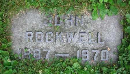 ROCKWELL, JOHN - Clark County, Ohio | JOHN ROCKWELL - Ohio Gravestone Photos