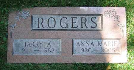 ROGERS, HARRY A. - Clark County, Ohio | HARRY A. ROGERS - Ohio Gravestone Photos