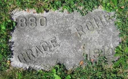 ROHR, GRACE - Clark County, Ohio | GRACE ROHR - Ohio Gravestone Photos
