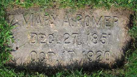 ROMER, MARY A. - Clark County, Ohio | MARY A. ROMER - Ohio Gravestone Photos