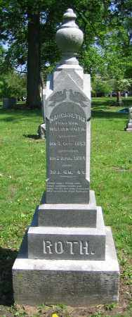 ROTH, MARGARETHA - Clark County, Ohio | MARGARETHA ROTH - Ohio Gravestone Photos