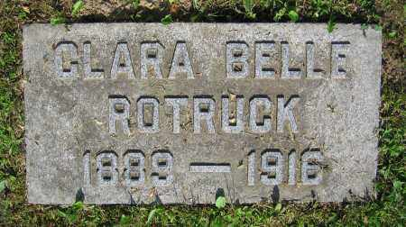 ROTRUCK, CLARA BELLE - Clark County, Ohio | CLARA BELLE ROTRUCK - Ohio Gravestone Photos