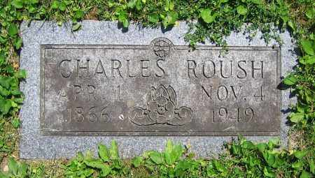 ROUSH, CHARLES - Clark County, Ohio | CHARLES ROUSH - Ohio Gravestone Photos
