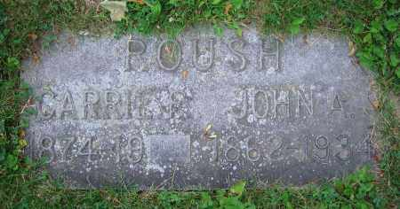 ROUSH, CARRIE F. - Clark County, Ohio | CARRIE F. ROUSH - Ohio Gravestone Photos