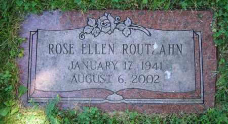 ROUTZAHN, ROSE ELLEN - Clark County, Ohio | ROSE ELLEN ROUTZAHN - Ohio Gravestone Photos