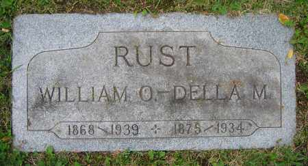 RUST, WILLIAM O. - Clark County, Ohio | WILLIAM O. RUST - Ohio Gravestone Photos