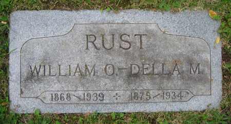 RUST, DELLA M. - Clark County, Ohio | DELLA M. RUST - Ohio Gravestone Photos