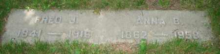 SALZIGER, ANNA B. - Clark County, Ohio | ANNA B. SALZIGER - Ohio Gravestone Photos
