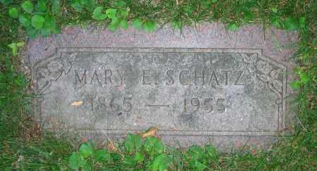 SCHATZ, MARY E. - Clark County, Ohio | MARY E. SCHATZ - Ohio Gravestone Photos