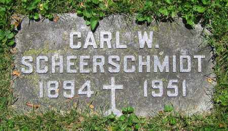 SCHEERSCHMIDT, CARL W. - Clark County, Ohio | CARL W. SCHEERSCHMIDT - Ohio Gravestone Photos