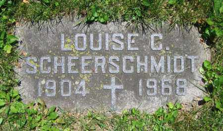 SCHEERSCHMIDT, LOUISE C. - Clark County, Ohio | LOUISE C. SCHEERSCHMIDT - Ohio Gravestone Photos