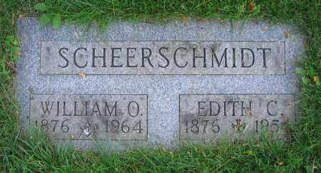 SCHEERSCHMIDT, WILLIAM O. - Clark County, Ohio | WILLIAM O. SCHEERSCHMIDT - Ohio Gravestone Photos