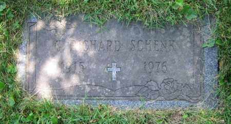 SCHENK, G. RICHARD - Clark County, Ohio | G. RICHARD SCHENK - Ohio Gravestone Photos