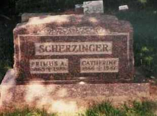 SCHERZINGER, PRIMUS ALBERT - Clark County, Ohio | PRIMUS ALBERT SCHERZINGER - Ohio Gravestone Photos