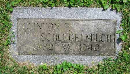 SCHLEGELMILCH, CLINTON P. - Clark County, Ohio | CLINTON P. SCHLEGELMILCH - Ohio Gravestone Photos